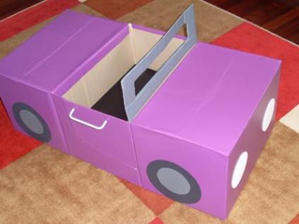 Do It Yourself Kids Car