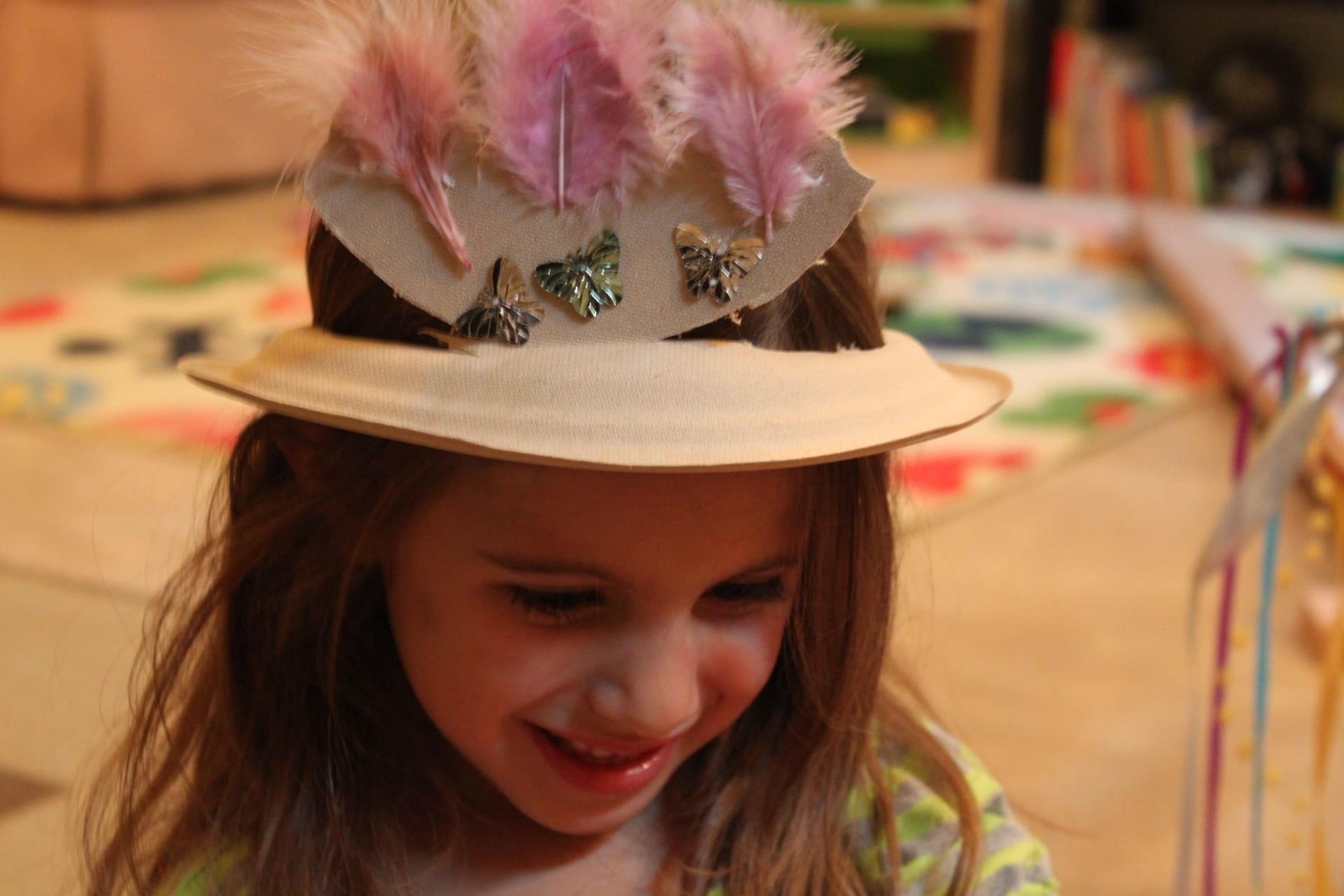 sc 1 th 183 & Paper Plate Hat