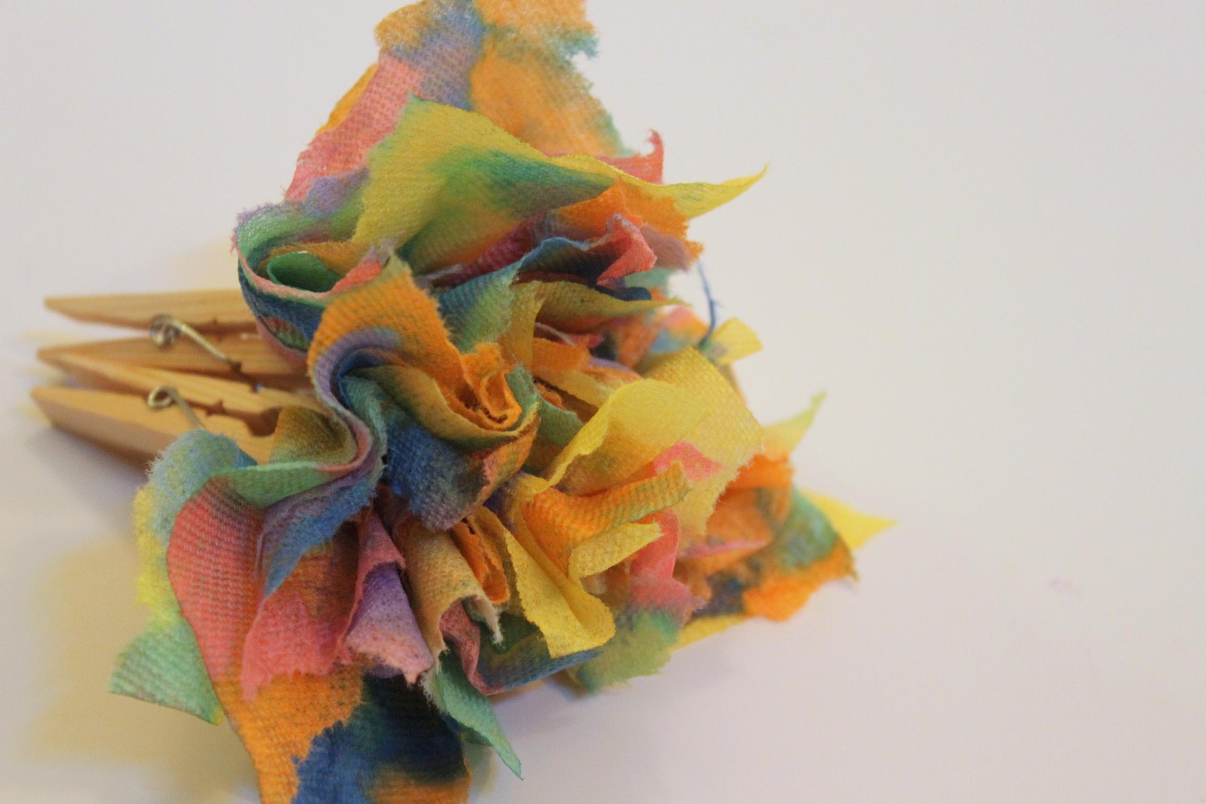 Paper towel flower mightylinksfo