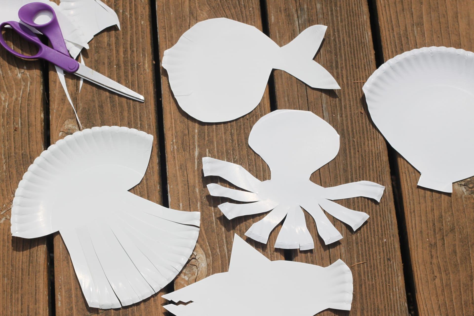 Paper Plate Sea Animals & Plate Sea Animals