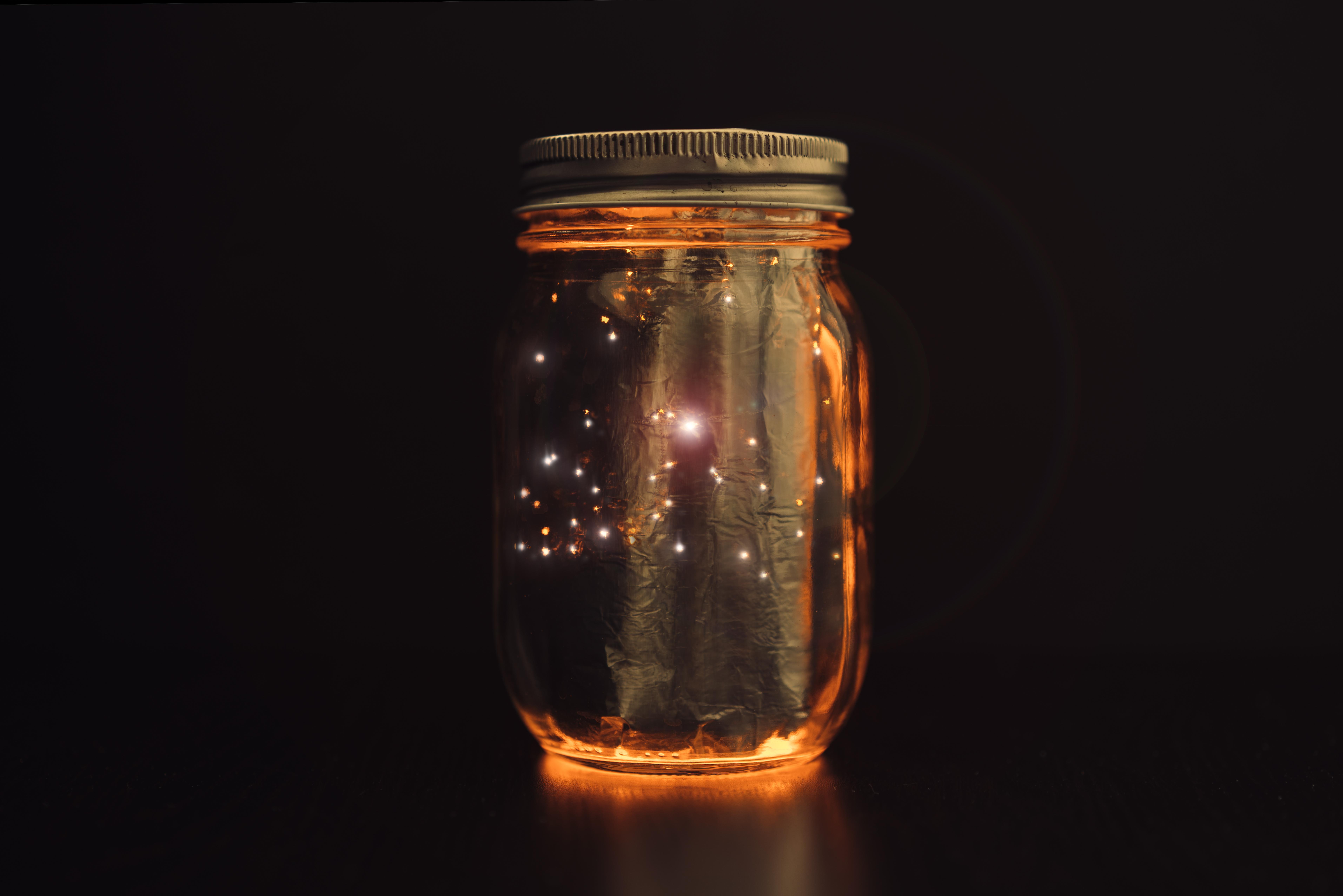lighting jar. Light-Up Mason Jar Lighting